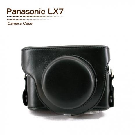 Wiston 手工皮套 For Panasonic LX7 (兩件式)
