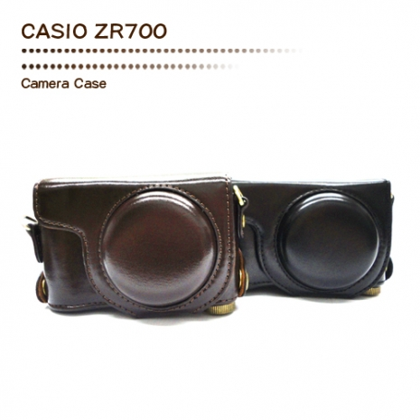 Wiston 手工皮套 For CASIO ZR700 (兩件式)