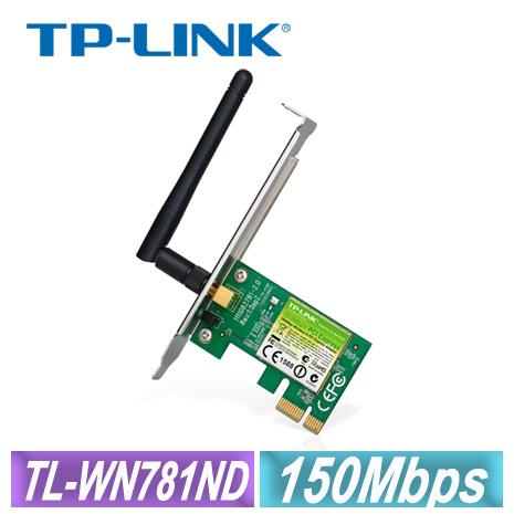 TP-LINK TL-WN781ND 150Mbps 無線 網路卡