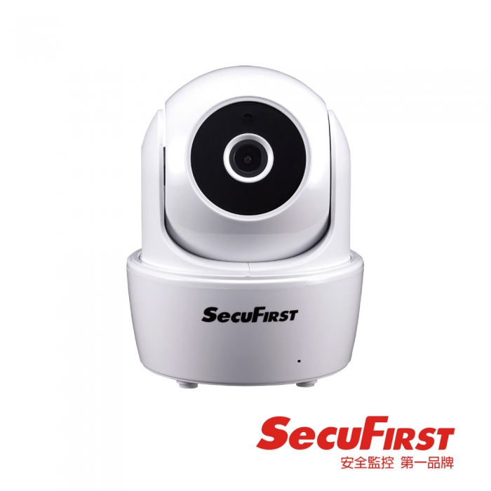 SecuFirst WP- G01SC旋轉HD無線網路攝影機(簡配)