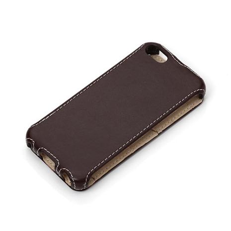 iJacket  iPhone 5 / 5S 皮革車線下掀皮套