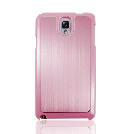 Lilycoco Samsung Galaxy Note3 雙料鋁合金保護殼-粉色
