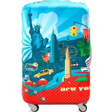 【LOQI 行李箱套】紐約 LMURNY