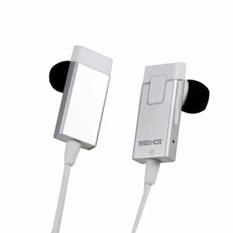 SEEHOT 嘻哈部落 V3.0 鋁合金入耳式立體聲藍芽耳機SBS-036R - 銀白