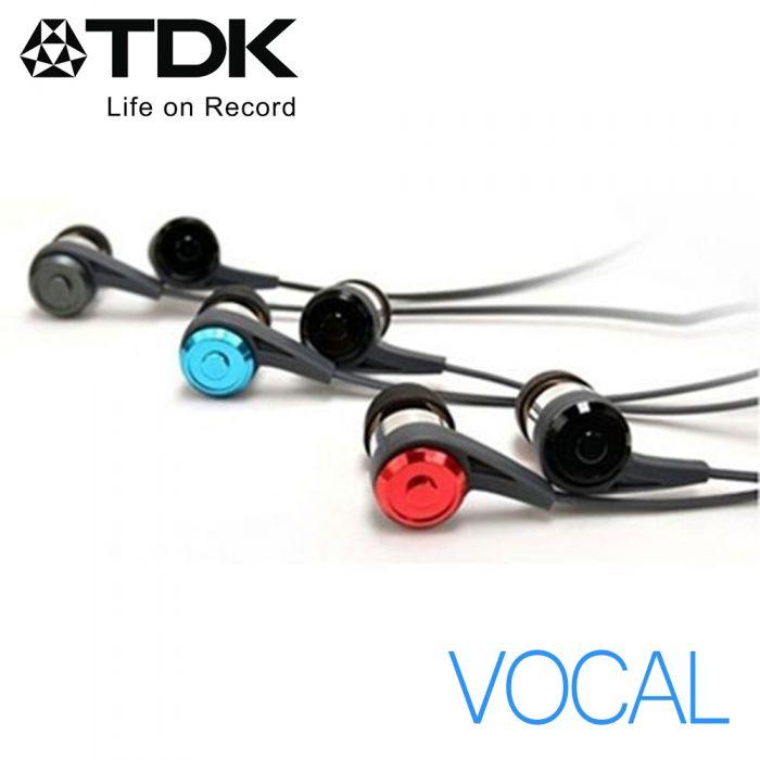 TDK CLEF-P2  -VOCAL- 原音重現立體聲耳機