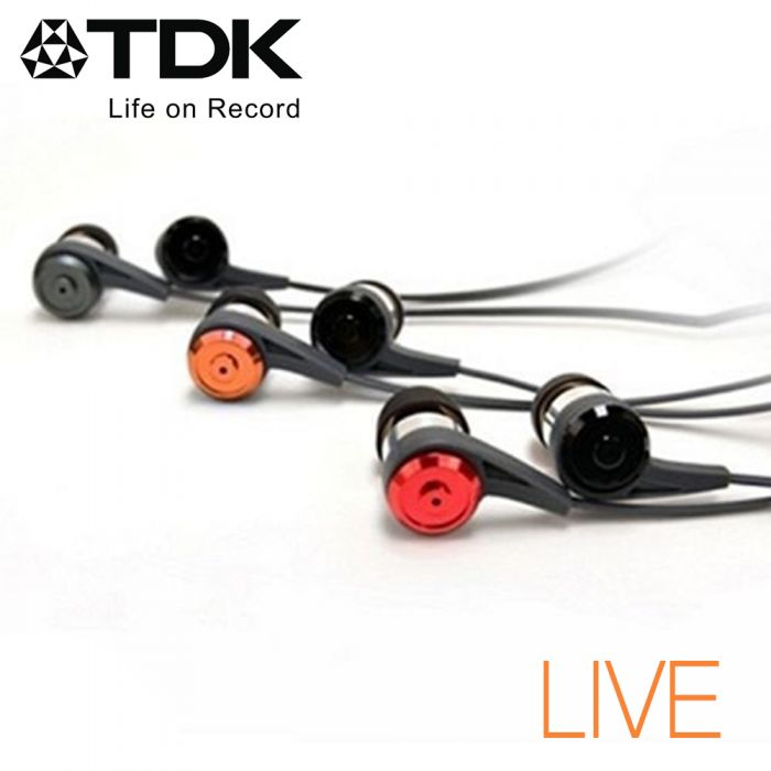 TDK CLEF-P2  -LIVE- 如臨現場立體聲耳機