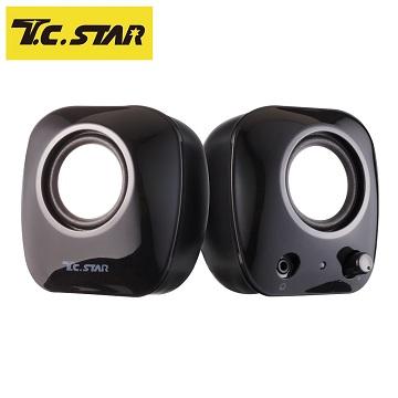T.C.STAR 二件式USB喇叭 TCS2280