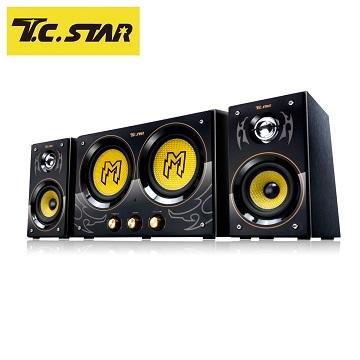 T.C.STAR 2.2聲道三件式電競喇叭 TCS3300