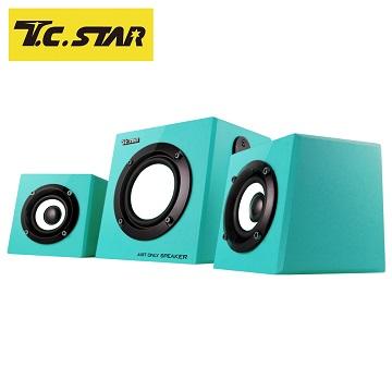 T.C.STAR 2.1聲道三件式多媒體喇叭 TCS4000
