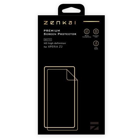 【Zenkai】Sony Xperia Z2  霧面 防指紋 PET螢幕保護貼(含背貼)