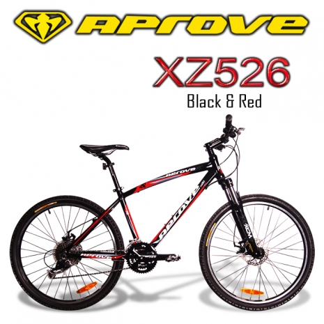 APROVE XZ526 超值27S碟煞登山車(紅/黑)