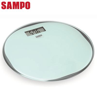 SAMPO聲寶 超薄圓形電子體重計 BF-L1302ML