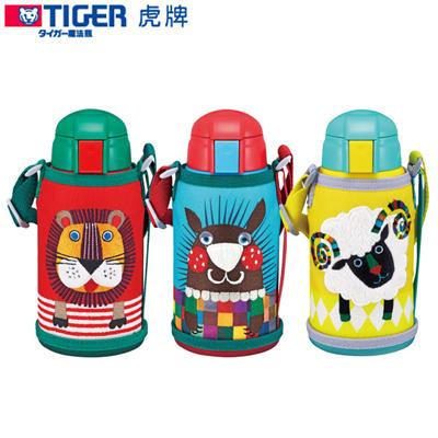 TIGER虎牌600cc動物造型童用保溫保冷瓶_2用頭 MBR-S06G