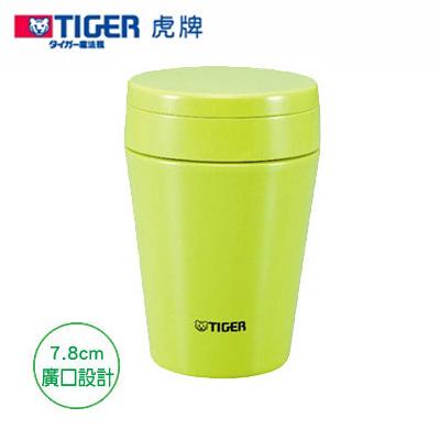 TIGER虎牌380cc不鏽鋼真空食物罐(蘋果綠) MCC-B038