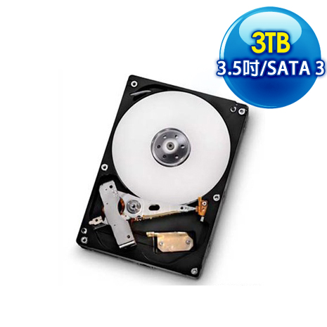 Toshiba東芝 3TB 64M 3.5吋 SATA3硬碟(DT01ACA300)
