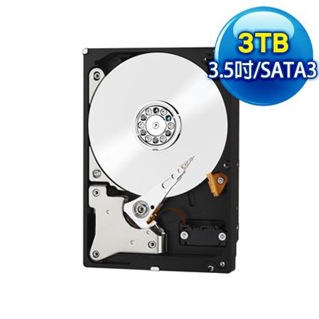 WD威騰 Red 3TB 3.5吋 SATA3紅標硬碟(WD30EFRX)