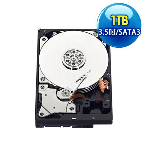 WD威騰 Blue 1TB 3.5吋 SATA3藍標硬碟(WD10EZEX)