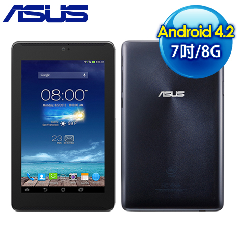 ASUS華碩 Fonepad 7 ME372CG 3G版 8G 7吋通話平版《黑》