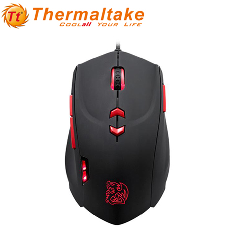 Thermaltake曜越 THERON Infrared極光紅外線 電競鼠