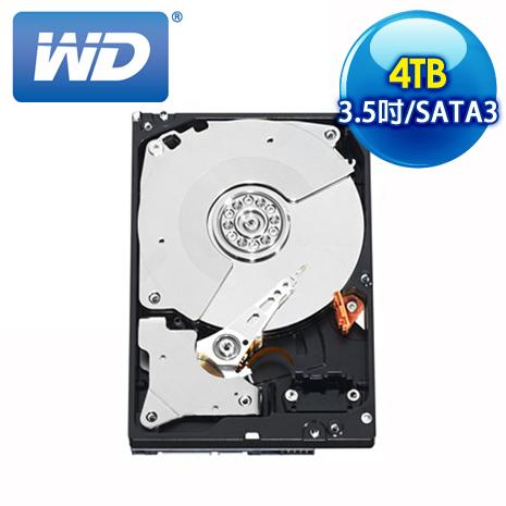 WD威騰 Black 4TB 3.5吋 7200轉 64M快取 SATA3黑標硬碟(WD4003FZEX)
