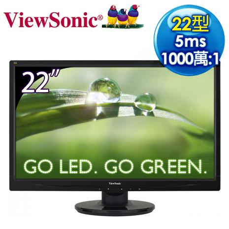 ViewSonic優派 VA2246a 22型 Full HD 超高畫質LED螢幕