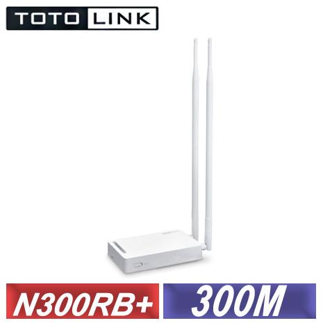 TOTOLINK〈N300RB+〉無線寬頻分享器