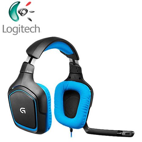 羅技 G430 遊戲雙耳麥