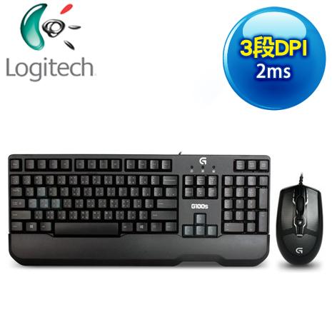 羅技 G100s 遊戲鍵鼠組