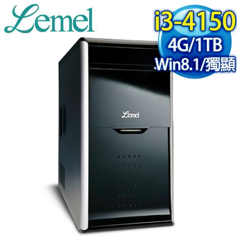 Lemel 風雲俠客 I3 雙核燒錄電腦 (LX3-FUB415-4S1T63E)