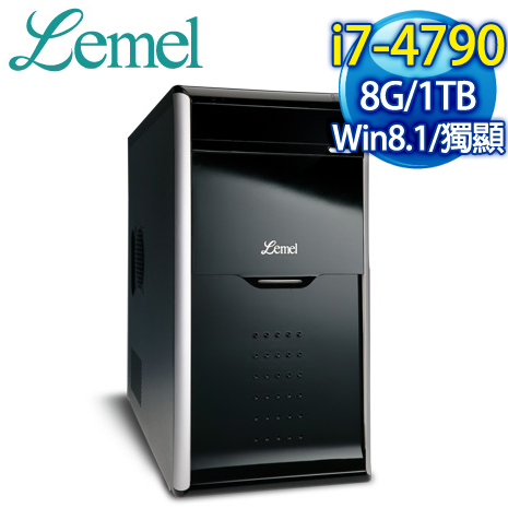Lemel 風雲盟主 I7 四核燒錄電腦 (LX3-FUB479-8S1S65E)