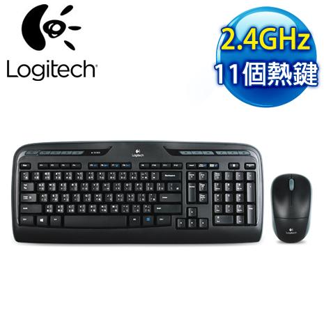 羅技 MK330 2.4G 無線鍵鼠組