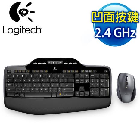 羅技 MK710 2.4G無線鍵鼠組