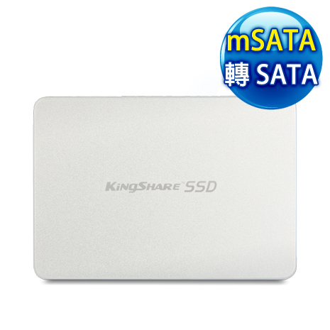 EQ mSATA轉 SATA SSD 轉接卡套裝《銀》