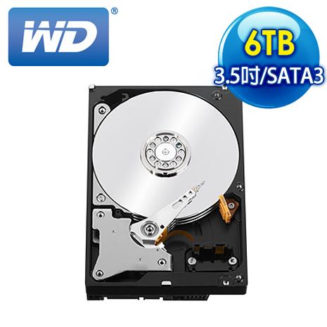 WD 威騰 Red 6TB 3.5吋 SATA3紅標硬碟(WD60EFRX)