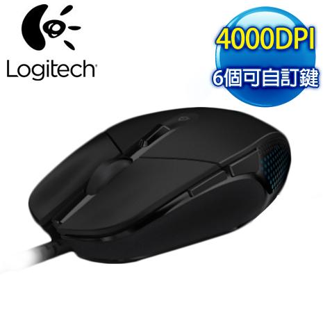 羅技 G302 MOBA 極速遊戲電競鼠