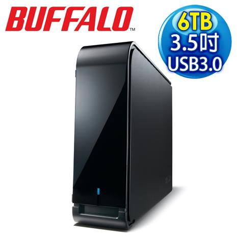 BUFFALO 巴比祿 LXU3L 6TB USB3.0 3.5吋外接硬碟