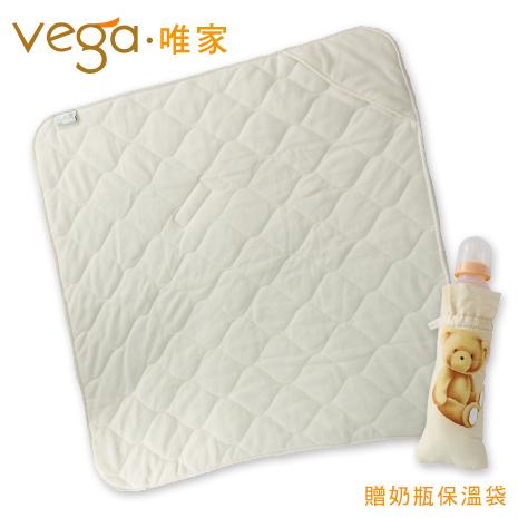 Vega唯家 奈米遠紅外線嬰兒包被(米白)