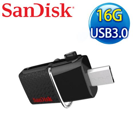 SanDisk Ultra Dual-usb 16G OTG USB3.0 隨身碟