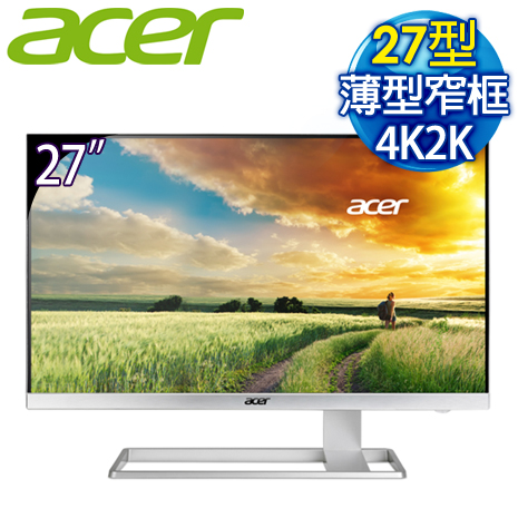 Acer 宏碁 S277HK 27型 4K2K 高畫質 液晶螢幕