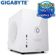 技嘉H170平台~聖舞地獄~Intel Core i3~6100 16G 1TB WIFI