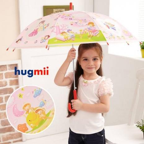 【Hugmii】童話系列造型兒童雨傘_紅色-特賣