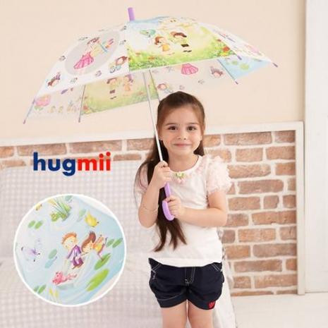 【Hugmii】童話系列造型兒童雨傘_紫色-特賣