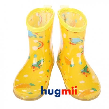 【Hugmii】滿圖造型兒童果凍雨鞋_飛機