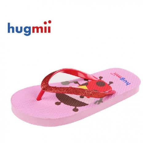 【Hugmii】童趣造型沙灘鞋_瓢蟲