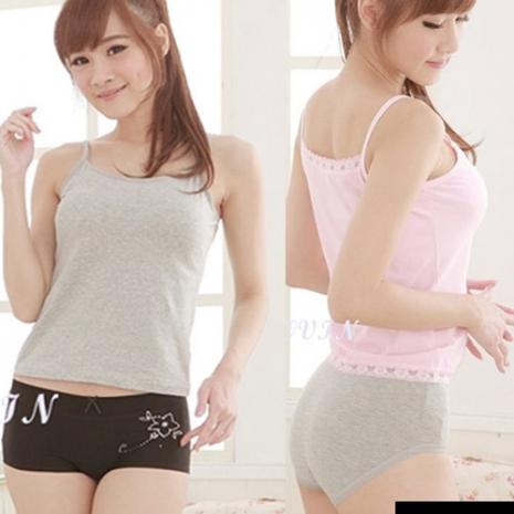 【吉妮儂來】舒適任選女褲2組12件(隨機取色)