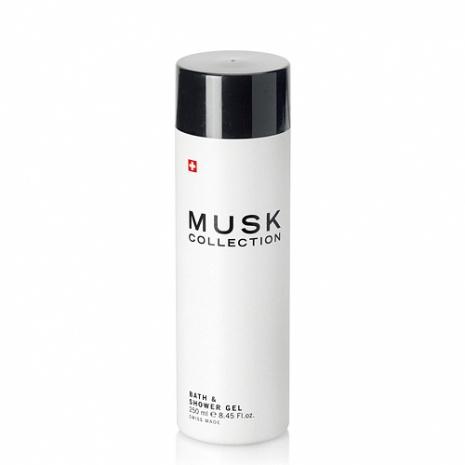Musk Collection 瑞士 經典黑麝香清爽保濕沐浴露(250ml)