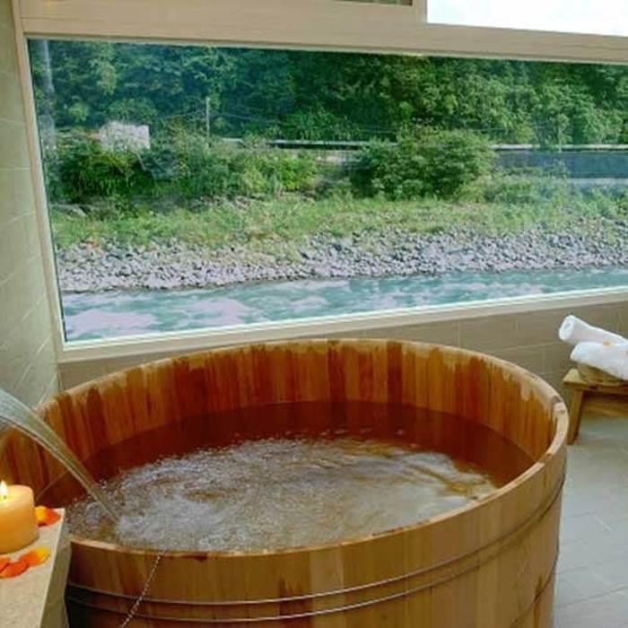 【烏來】湯布苑溫泉館-檜之湯60分鐘-加贈飲料及點心(Z)