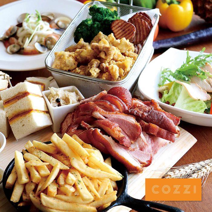 HOTEL COZZI和逸台南西門館3~4人午/晚間親子分享餐