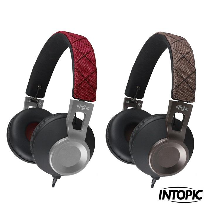 【INTOPIC】摺疊音樂耳機麥克風 JAZZ-M360