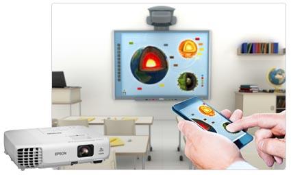 EPSON EB-X18 投影機  3000ANSI XGA 會議不關燈智慧短距投影,(原廠公司貨3年保固)
